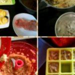 Rezept Pastinaken-Kohlrabi-Brei mit Schwein (Mittagsbrei)
