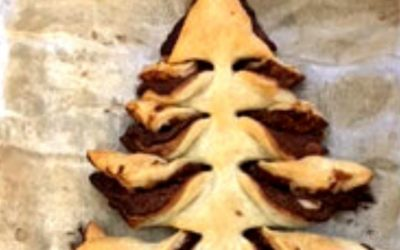 Nutella Christbaum