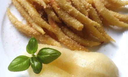Süße Schupfnudeln mit Birnen