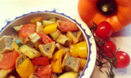 Maultaschen-Gemüse Pfanne