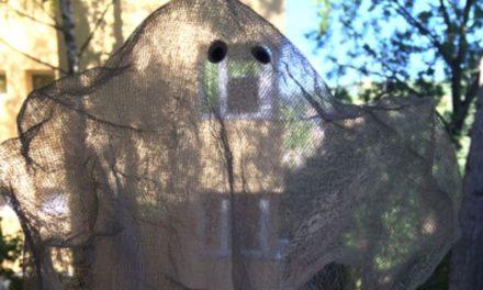 DIY Halloween Gespenst