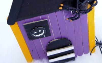 DIY Halloween Hexenhaus