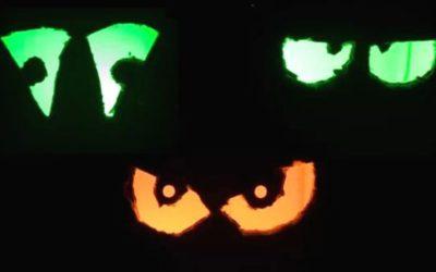 DIY HalloweenAugen