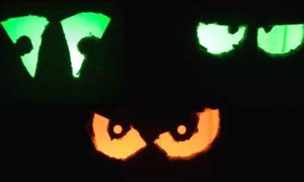 DIY Halloween Augen