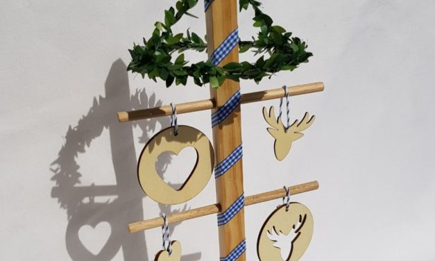 DIY Maibaum (Friesenbaum)