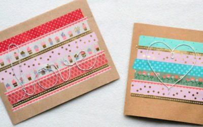 """DIY Karten """"Drahtige Grüße"""""""