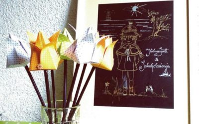 DIY Origami Tulpen