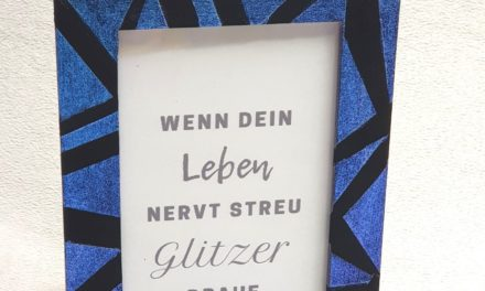 """DIY Bilderrahmen """"Berlin Flip Flop"""""""