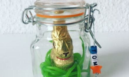 DIY Osterhase im Glas
