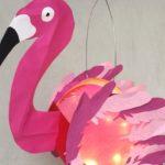 "DIY Laterne ""Flamingo"""