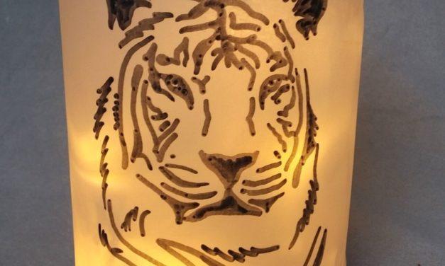 """DIY Laterne """"Tiger"""""""