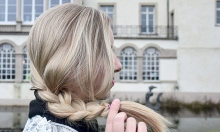 DIY Frisur 3‑Strang-Zopf