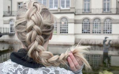 DIY Frisur: Holländischer Zopf (Dutch Braid)