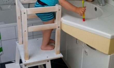 DIY Kinder Lernturm (IKEA)