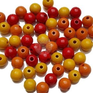 DIY_Material_Holzperlen_Mix_gelb_orange_rot