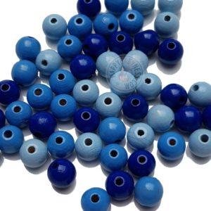 DIY_Material_Holzperlen_Mix_hellblau_blau_dunkelblau